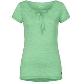 super.natural Relax Camiseta Mujer, greenbriar melange
